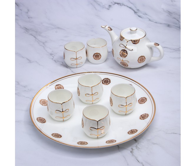 T20 Bone Porcelain Teaset