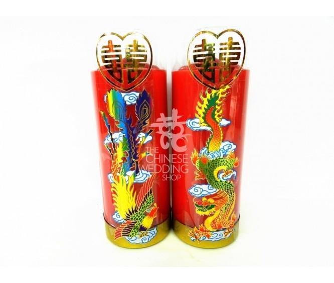 CD11 Dragon & Phoenix Candles (Cantonese / Hakka / Hainanese)