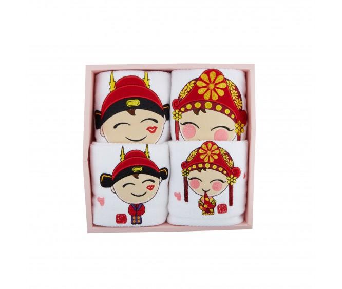 BTW6 Premium Couple Towel Set