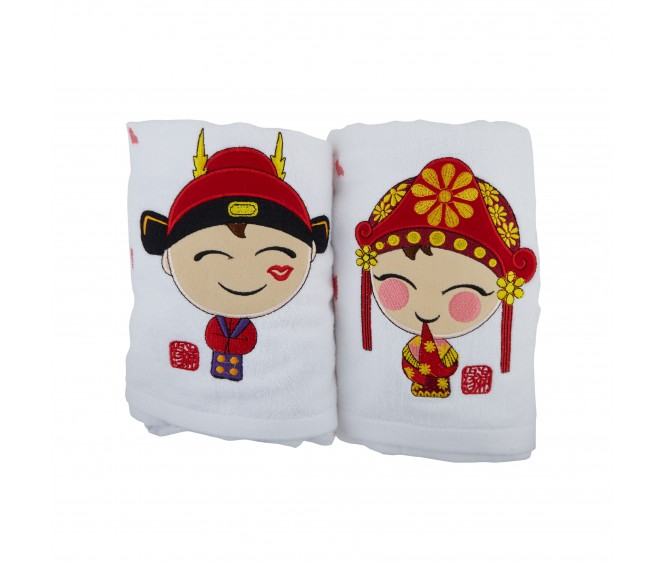 BW6 Premium Couple Bath Towels