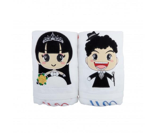 BW8 Premium Couple Bath Towels
