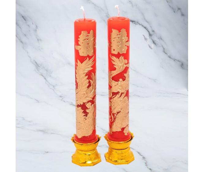 CD1 Dragon & Phoenix Candles (Cantonese / Hakka / Hainanese)