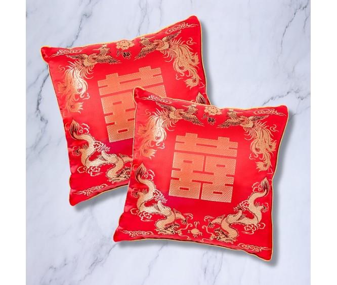 PV4 Dragon & Phoenix Kneeling Cushions (Pair)